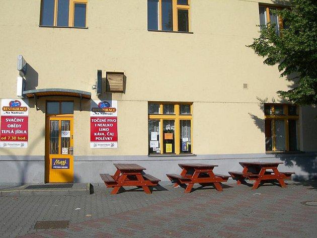 3. Restaurace Na nádraží Chrudim.