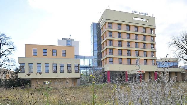 Aktuální snímek okolí Hotelu Bohemia.