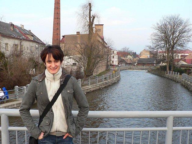 Martina Sáblíková v Hlinsku.