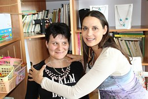 Terezie Dobrovolná navštívila Domov sociálních služeb Slatiňany