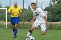 Přípravné derby AFK Chrudim - SK Chrudim 7:0.