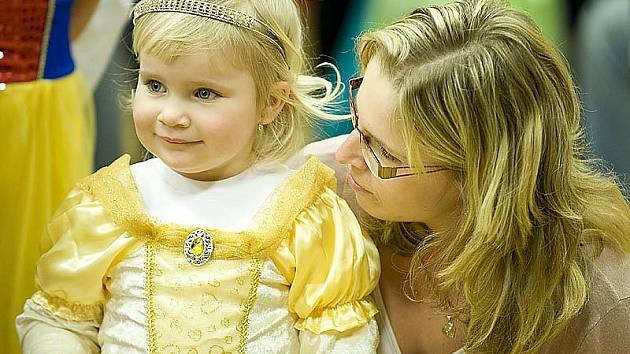 Krásné odpoledne připravili dětem pořadatelé Kulturního klubu Skuteč. V sobotu se zde konal tradiční dětský karneval.