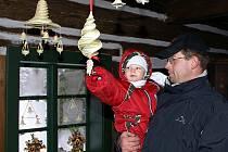 """Výstavu """"Vánoce na Veselém Kopci aneb od Martina do Tří králů"""" navštívili lidé už v sobotu"""