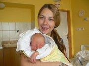 RICHARD SLANAŘ (3,22 kg a 53 cm). Čerstvými rodiči jsou od 25.10. od 11:20 Renata a Karel z Pardubic.