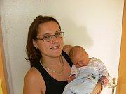 MIKULÁŠ HLADKÝ (3,94 kg a 53 cm) udělal radost 28.10. v 15:14 nejen rodičům Andree a Alešovi z Hlinska, ale také 5,5letému bráškovi Alexovi.