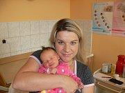 STELLA ŠTÝBNAROVÁ (3,61 kg) se poprvé ozvala rodičům Tereze a Zdeňkovi z Litomyšle a své 3leté sestřičce Sáře 24.10. ve 14:02.