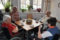 Obyvatelé hlineckého domova pro seniory Drachtinka mají tu nejlepší péči.