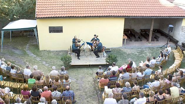 Corvus Quartet zahrál v rámci Hudebního léta i letos.