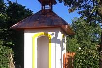 Nově postavená kaplička v Záboří