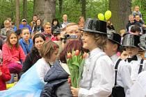 Medlešická školka oslavila sedmdesátiny.