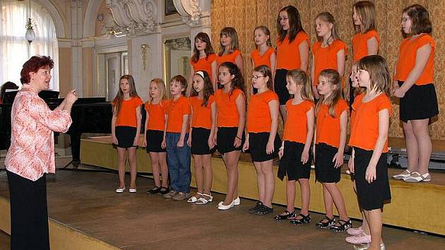 V muzeu se konalo krajské kolo celostátní pěvecké přehlídky školních dětských pěveckých sborů.