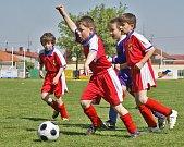 Mladší přípravka FC Hlinsko.