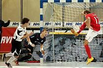 Futsalové utkání z loňského UEFA Futsal Cupu EraPack - Tbilisi 0:5.