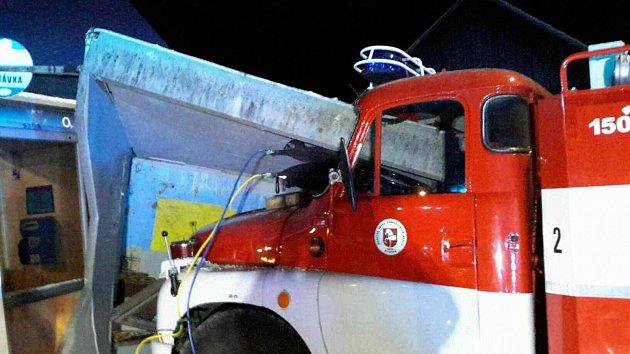 Nehoda hasičů ve Vortové