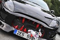 Na Konopáči si během Relax Meetingu dali sraz příznivci tuningových automobilů.