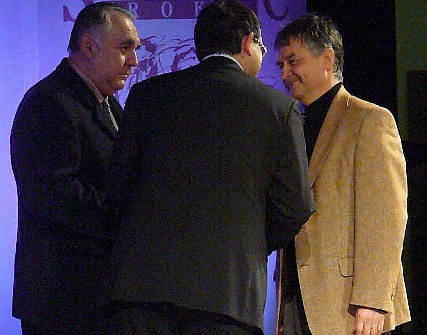 Ludvík Zajíc, šéftrenér mládeže AFK, se mezi umístil na druhé příčce.