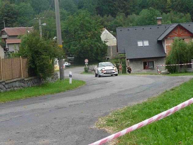 Z jubilejního desátého ročníku Rallye Železné hory.