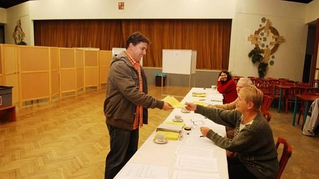 Volby do II. kola senátních voleb v Třemošnici.