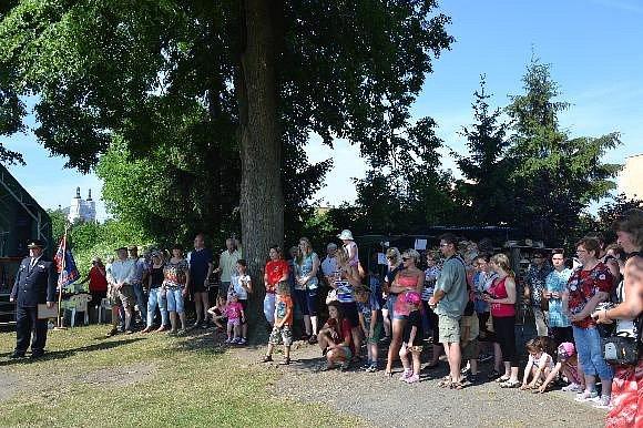 Oslavy 140 let od založení sboru dobrovolných hasičů v Luži.