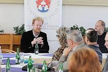 Ekonom, ale i publicista Tomáš Sedláček debatoval v úterý s podnikateli mimo jiné na téma Evropská unie.