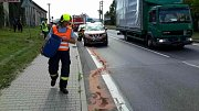 V Hrochově Týnci se srazila čtyři auta