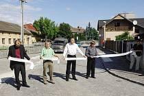 V pondělí 16. srpna byla po rekonstrukce slavnostně znovuotevřena Střelecká ulice v Chrudimi.
