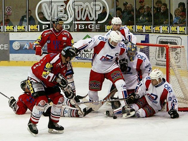 Chrudimští hokejisté zůstali krůček od postupu.
