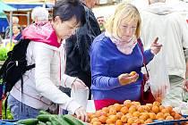 Meruňky v nabídce trhovců činí spíše výjimku