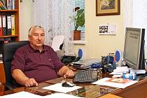Starosta Hrochova Týnce Miroslav Besperát.