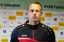 Ondřej Vencl (na snímku) již v prvním utkání ukázal, že bude pro chrudimského nováčka platnou posilou.