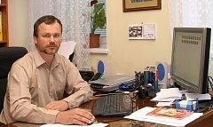 Místostarosta Hrochova Týnce Petr Schejbal.