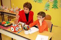 Základní škola v Třemošnici uvítala budoucí prvňáčky.