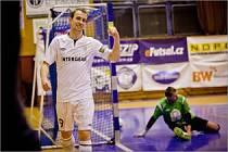 TOMÁŠ KOUDELKA zaznamenal proti Kladnu již druhý hattrick v této sezoně.