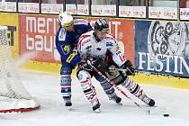 Chrudimští hokejisté uhráli v posledním přípravném utkání remízu s jedním z největších favoritů první ligy, týmem KLH Chomutov. Oporou byl brankář Adam Svoboda.