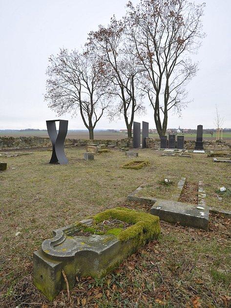 Upravené pohřebiště vmístní části Kunčí.