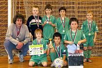 Mladší přípravka FC Hlinsko vybojovala druhé místo.