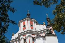 Poutní chrám na Chlumku v Luži