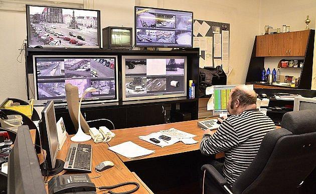 Monitory Městské policie Chrudim, ilustrační foto