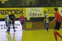 Era-Pack Chrudim porazil v prvním čtvrtfinále play off I. futsalové ligy Torf Pardubice 6:1.