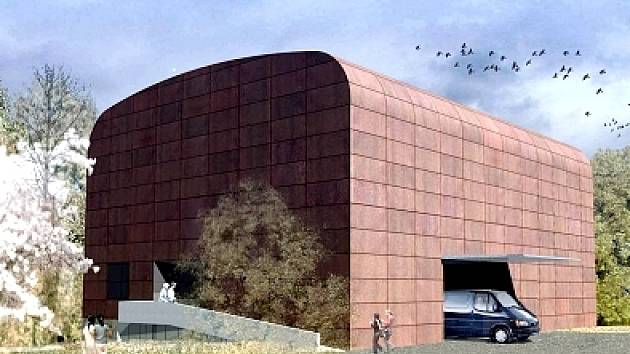 Představa architektů o podobě nové stavby.
