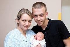 Natálie Čížková (3,52 kg a 50 cm) se narodila 30.4. v 6:01 Lukášovi a Veronice z Vysokého Mýta.