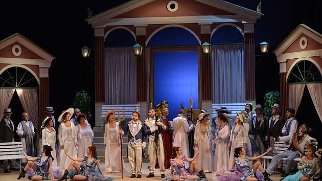 Opereta Krásná Helena zamíří také do Skutče.