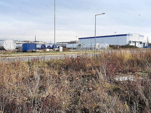 Průmyslová zóna Chrudim.