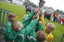 Místní fotbalový klub a město Hlinsko uspořádaly turnaj přípravek Milk Cup 201, který je zároveň Memoriálem Františka Boušky, Josefa Halamky a Františka Petra.