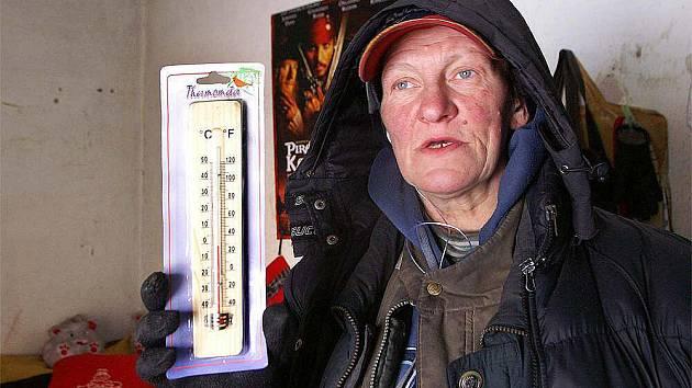 Lidé na Chrudimsku se musí v těchto dnech vyrovnat se silným mrazem.
