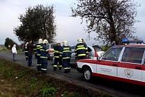 Při střetu čtyř vozidel na silnici mezi Chrudimí a Ostřešany nebyl naštěstí nikdo zraněn.