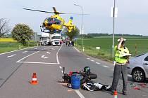 Nehoda u chrudimského Kauflandu