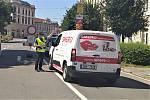 Městská policie v Chrudimi radí bloudícím řidičům, kteří dojedou až k opravovanému kruháku.