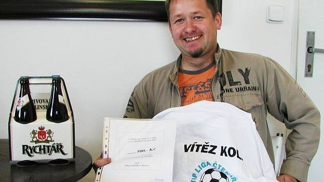 Milan Zahálka z Blatna a jeho ceny.