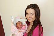 NATÁLIE PLÍŠKOVÁ (2,73 kg a 48 cm) – toto jméno vybrali 14.3. ve 4:31 pro svou prvorozenou dceru Kateřina a Martin z Nasavrk.